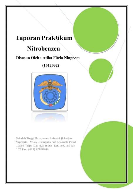 Laporan praktikum nitrobenzen ccuart Images
