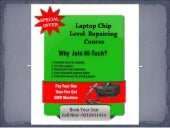 Laptop chip level repairing course