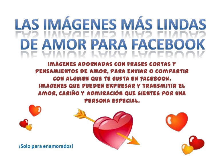 Las Imagenes Mas Lindas De Amor Para Facebook