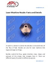 Laser machine nozzle  facts and details