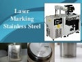 Laser marking stainless steel