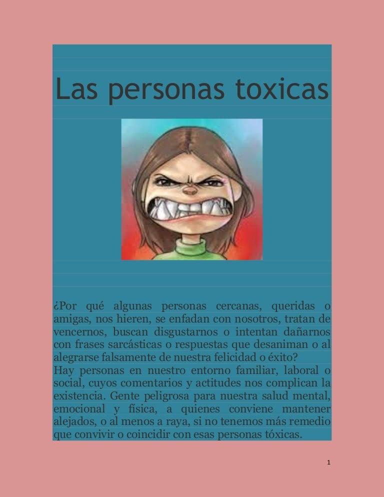 Las Personas Toxicas
