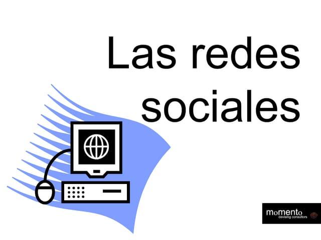 Las redes sociales son ...