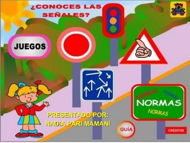 Circuito Vial Para Niños : Las señales de tránsito