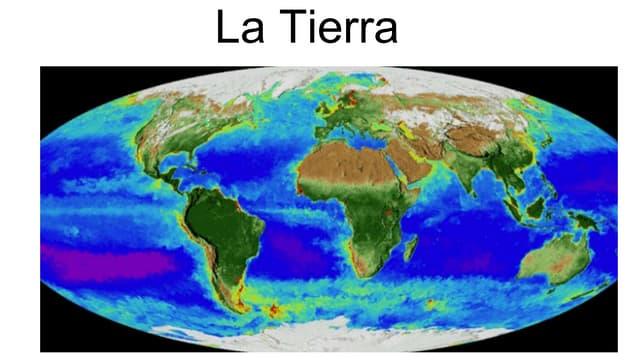 La tierra. Lurra. EPA Mungia