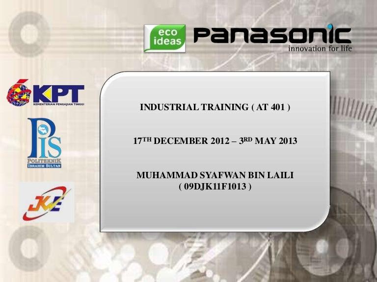 Contoh Presentation Latihan Industri Pis