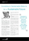 Investing in Sustainable Returns for a Sustainable Future - Interview with: Fernando Sánchez V., General Manager LocFund LP, BIM Ltd. - Latin Investors Summit