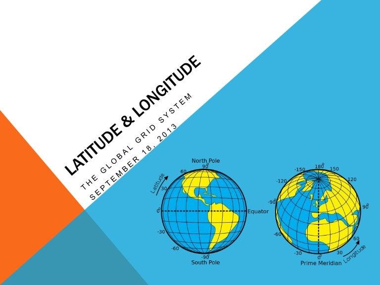 Latitude  U0026 Longitude Ppt