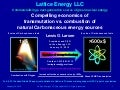 Lattice Energy LLC - Compelling Economics of Transmutation vs Combustion of Carbonaceous Energy Sources - Jan 14 2015