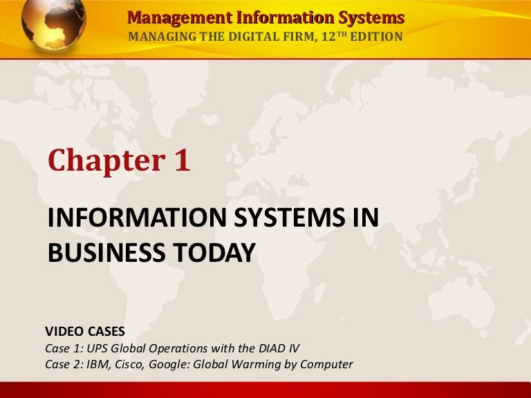 laudon and laudon 12th edition powerpoint