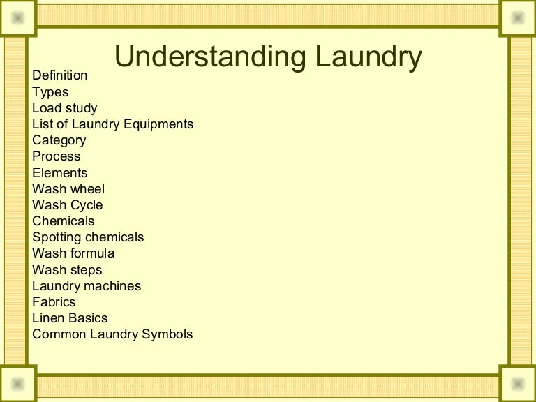 All Types Of Laundry Detergent