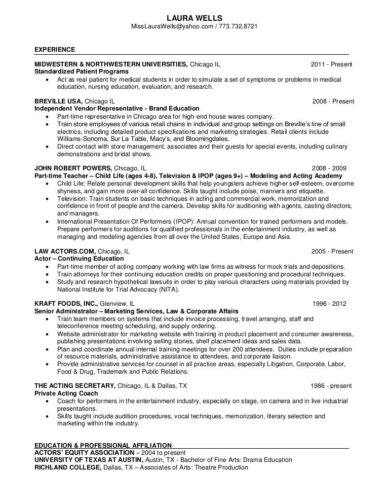 curriculum vitae nurse educator
