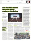 La vanguardia - EAE Business School lanza un nuevo grado en marketing