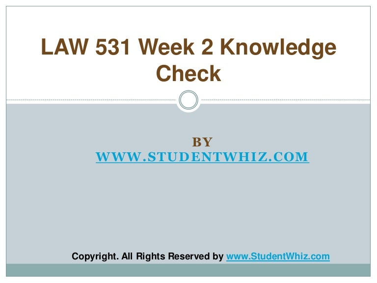 week 2 knowledge check Bus475 week-2 knowledge check 1 compared with other approaches to business, the marketing concept is distinct in that it click here to download attached files: bus475 week-2 knowledge checkdocx.