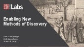 Enabling New Methods of Discovery - Digital Preservation Virtual Conference - Lawrence Livermore National Laboratory