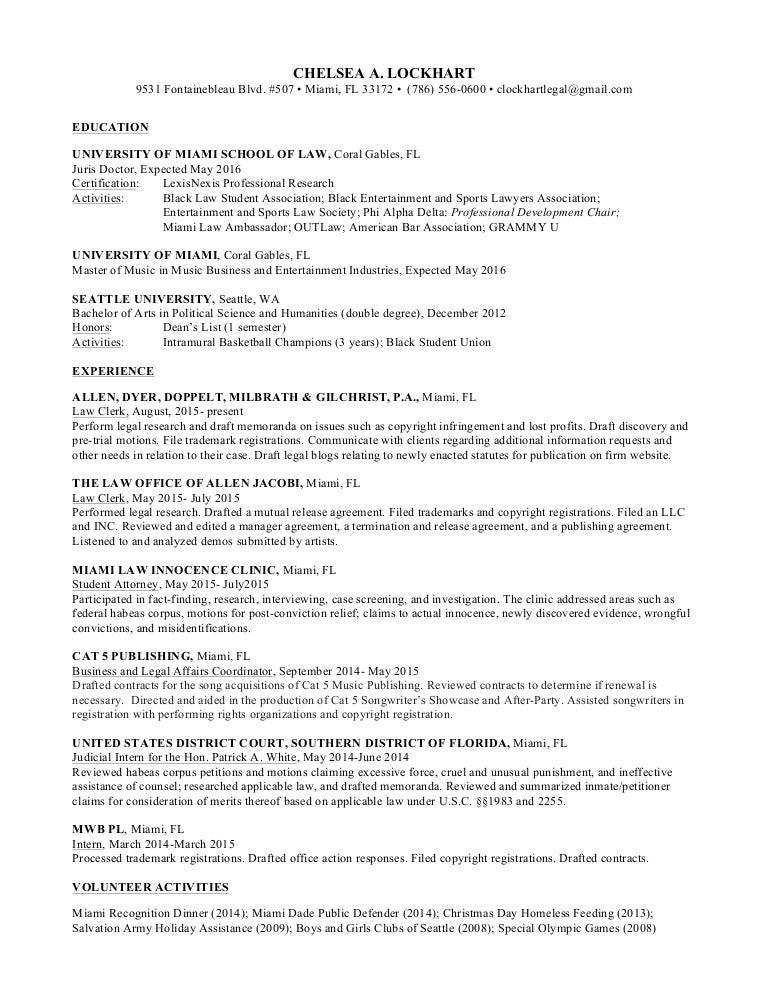 Law School Resume.Law School Resume