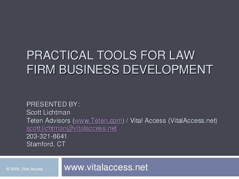 Practical Law Firm Business Development