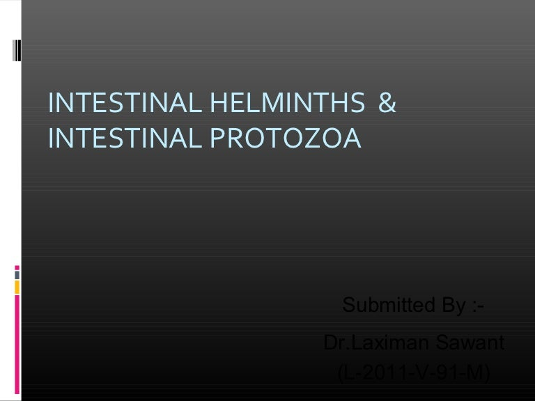 Helminthiases protozoa