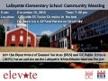 Layfayette School Community Meeting Flyer (December 2015)