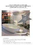 Lavabor xinh handmade. Sản xuất trực tiếp phân phối toàn quốc (098.3333.683)