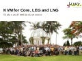 LCA13: KVM for Core, LEG and LNG