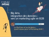 Le Big Data et les analytics : quels enjeux pour le marketing BtoB