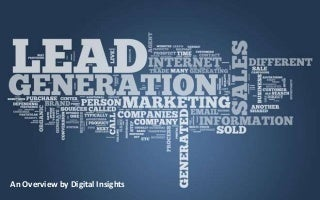 Lead generation through Social Media - Digital Insights