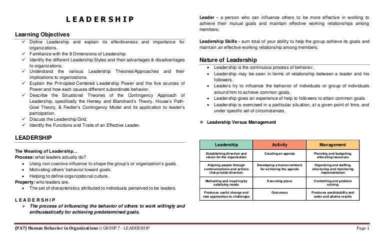 what are weaknesses of situational leadership theory Understand the key characteristics of trait theory of leadership and use it to help identify your strengths and weaknesses.