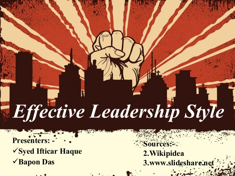 leadership styles powerpoint presentation