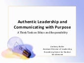 Leadership and communication - BD