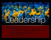Leadership communication and trust