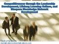Leadership development lll and diaspora knowledge