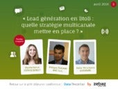 Lead generation en BtoB quelle strategie multicanale mettre en place