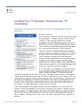 Leading Pay TV Operator Revolutionizes TV Advertising