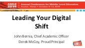 Leading Your Digital Shift - AMLE