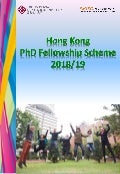 Hong Kong PhD Fellowship Information leaflet 2018-2019