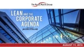 Lean and the Corporate Agenda with Guest Jacob Stoller