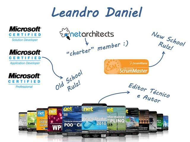 DNAD 2010 - Lightning Talk - O design emergente pelas métricas (por Leandro Daniel)