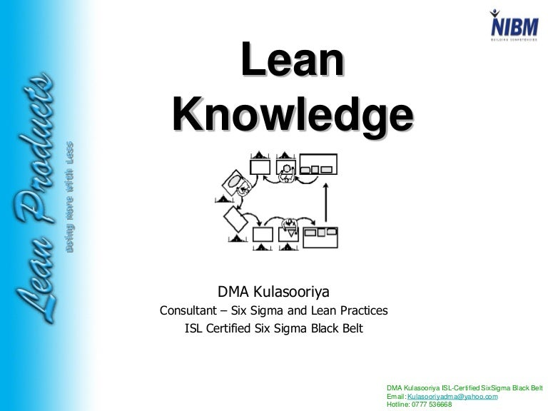 lean knowledge