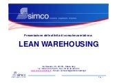 SIMCO: Lean Warehousing