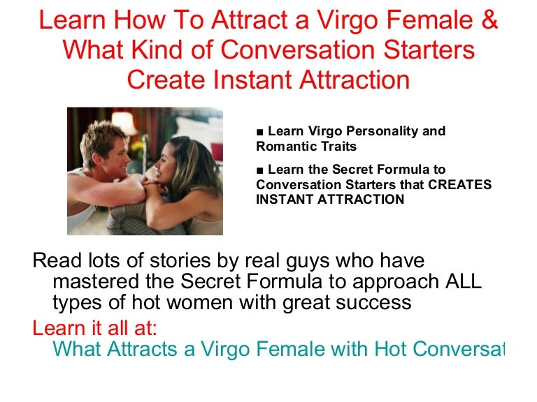 Learn What Attracts A Virgo Woman & What Kind Of