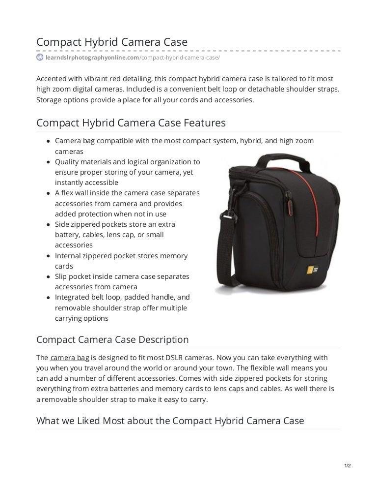 Compact Hybrid Camera Case