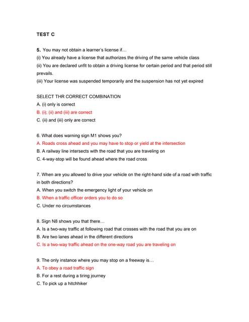 K53 Learners Manual Pdf