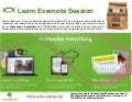 Learn Evernote Noon Knowledge Session, September 10, 2014
