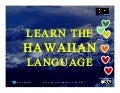 Learn the Hawaiian Language