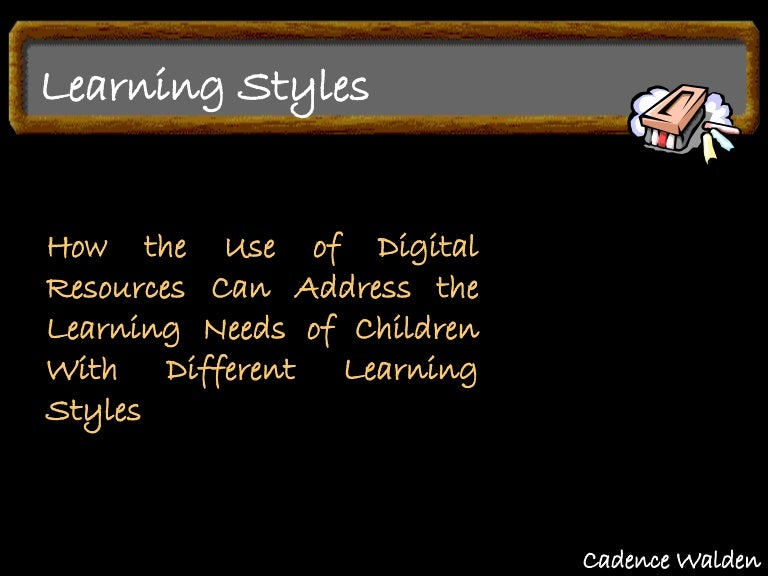 Dissertation on learning style