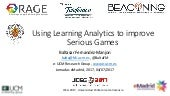 Learning analytics for improving educational games jcsg2017