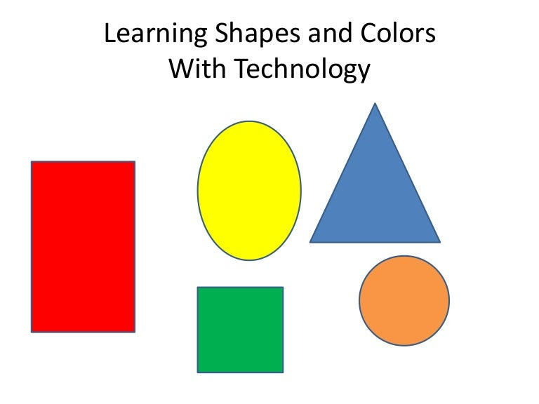 Learning Colors And Shapes