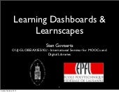 Learning Dashboards & Learnscapes
