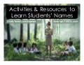 Activities and Resources to Learn Students' Names